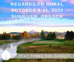 Regards to Rural 2020: Mark Your Calendar!